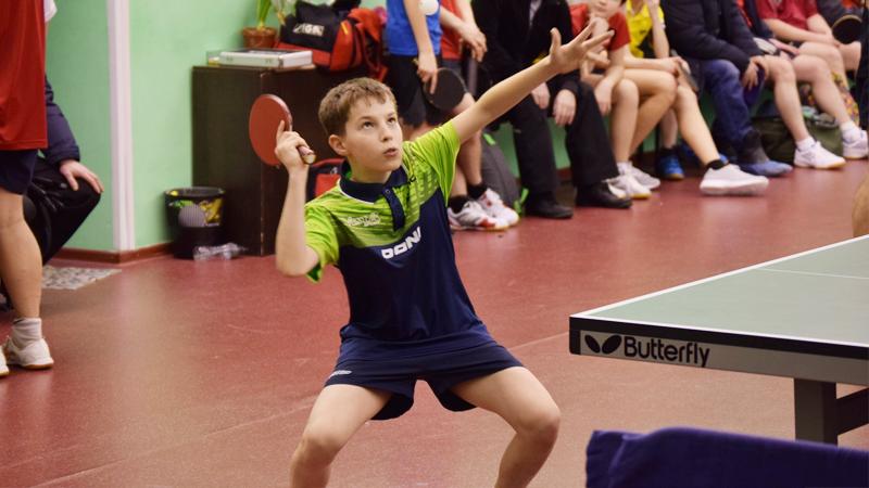 Вологжанин Михаил Молоков занял первое место на первенстве СЗФО по настольному теннису