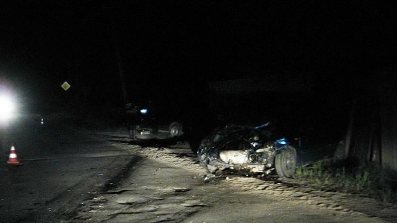 Пьяный автомобилист врезался в Ладу Калину: пострадала семья с ребенком
