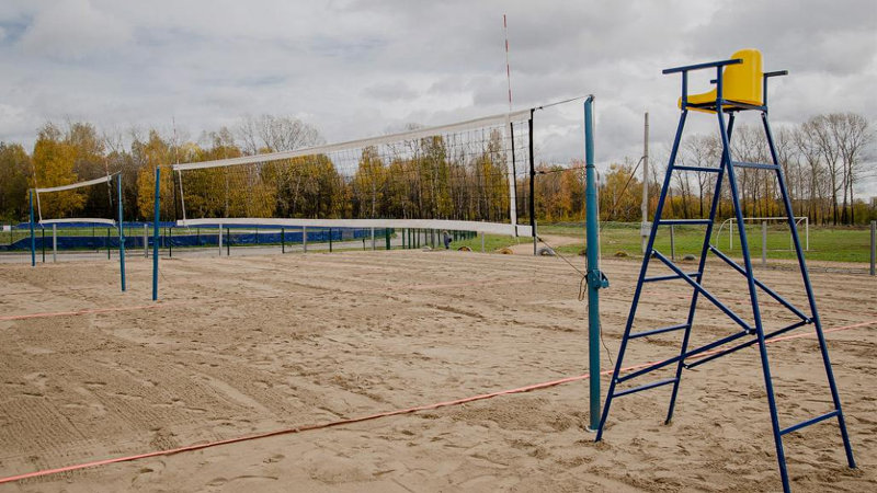 В Вологде появились три новых площадки для пляжного волейбола
