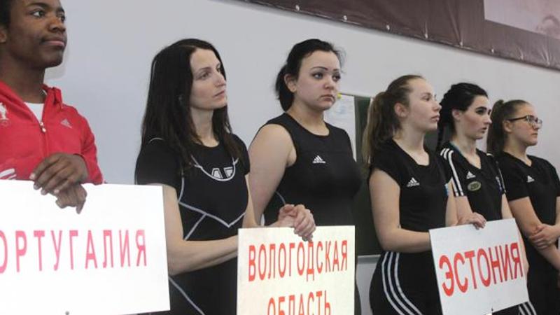 Череповецкие тяжелоатлетки стали победительницами международного турнира