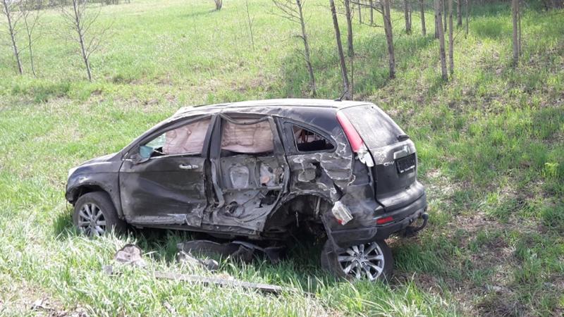 В Череповецком районе женщина-водитель въехала в КАМАЗ: есть один пострадавший