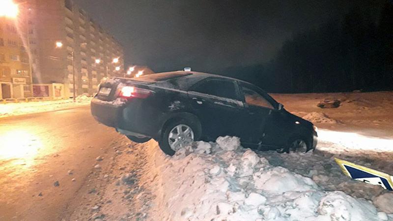 Ночные гонки устроил пьяный водитель в Череповце