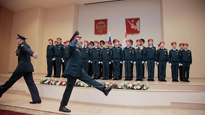 27 юных вологжан посвятили сегодня в кадеты