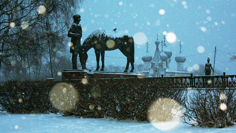 Обильный снегопад ожидается в новогоднюю ночь в Вологде