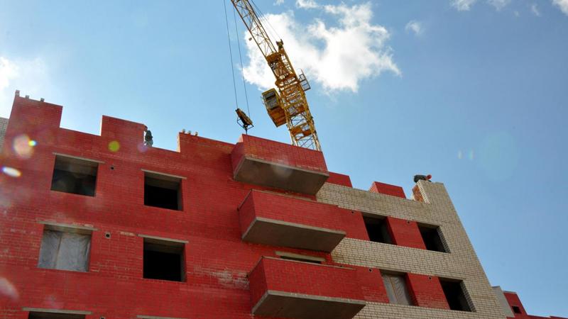 «Стройиндустрия» так и не достроила дома и теперь признана банкротом