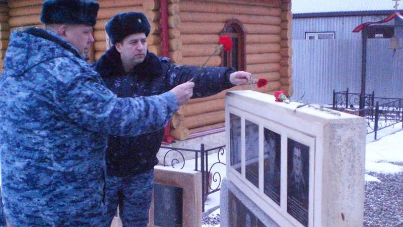 В Вологодской области почтили память полицейских, погибших при исполнении служебного долга в Северо-Кавказском регионе