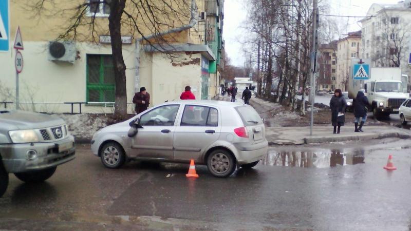 В Вологде на пешеходном переходе сбили 78-летнюю пенсионерку
