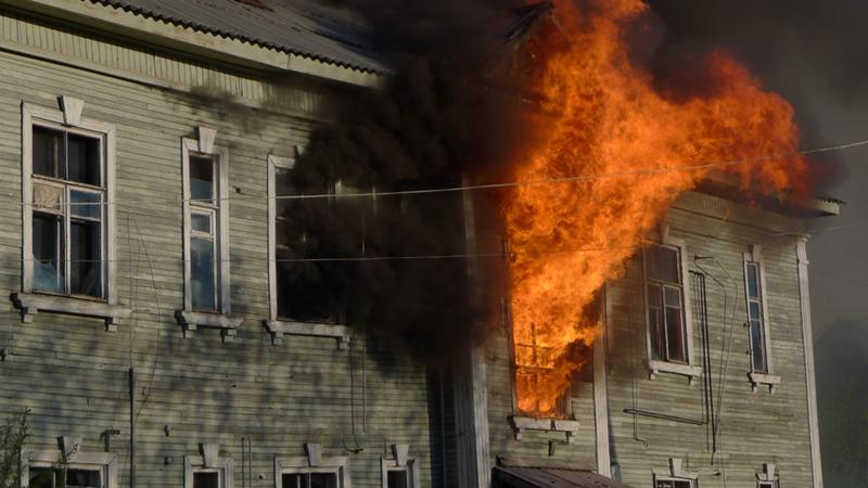 В Грязовце на пожаре погибла молодая девушка