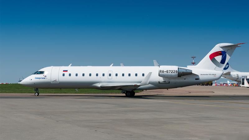 Авиапредприятие «Северсталь» заняло 8-е место в рейтинге пунктуальности авиакомпаний