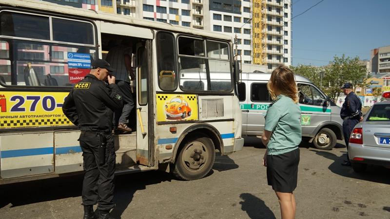В Вологде арестовали автобус № 9