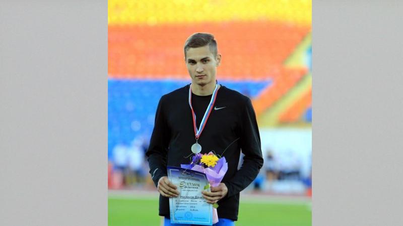 Вологжанин Данил Росляков завоевал бронзовую медаль на первенстве России по лёгкой атлетике