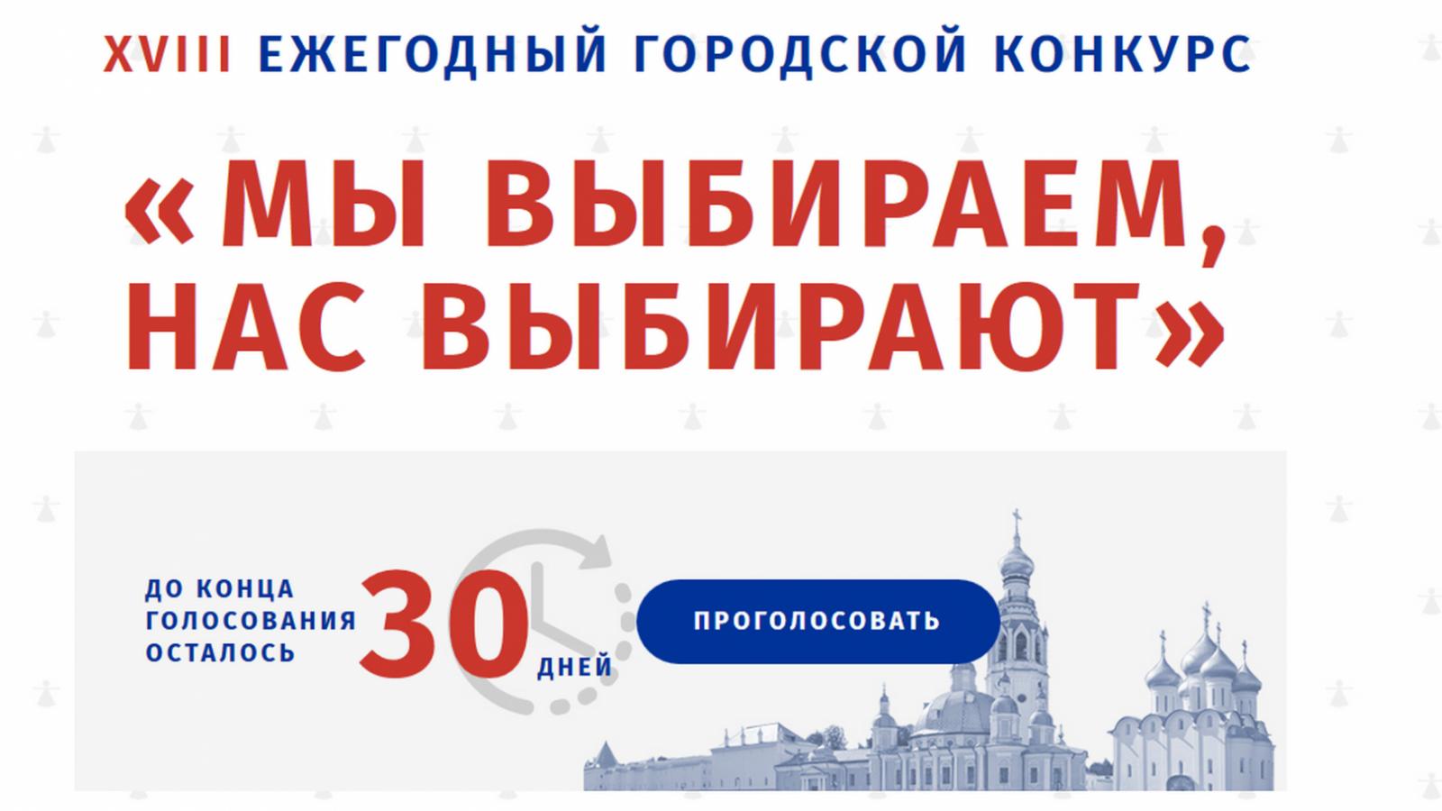 В Вологде стартовало Интернет-голосование «Мы выбираем, нас выбирают»