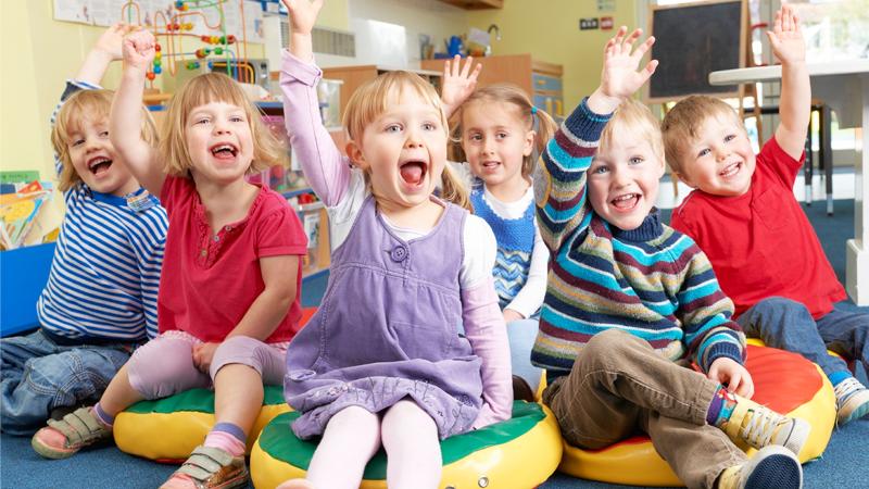 80% малышей Вологодчины посещают детские сады