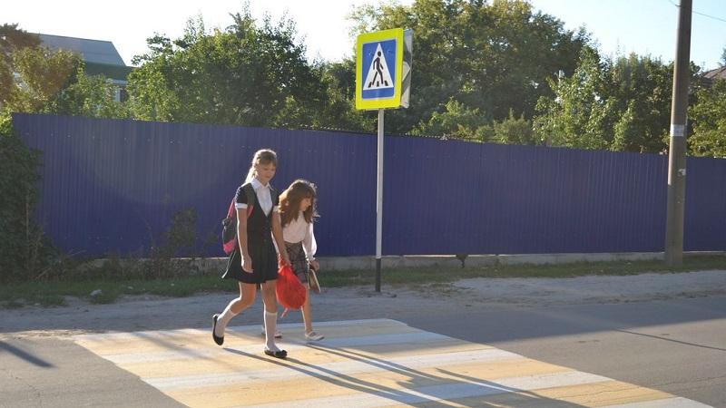 Дорожные светоотражатели планируется разместить на пешеходных переходах Вологды