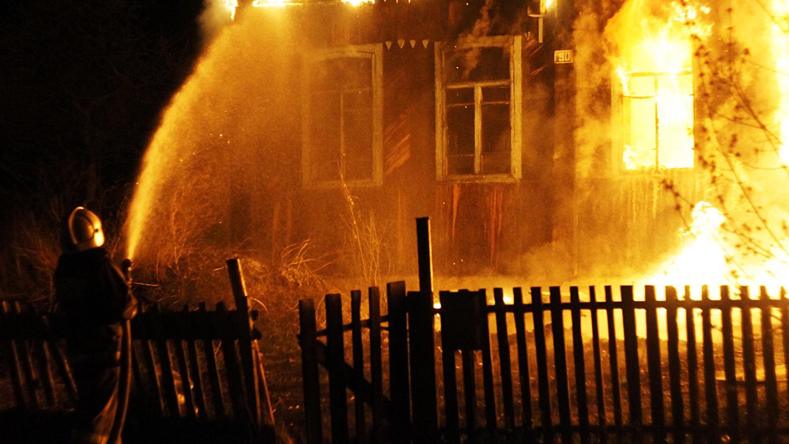 В историческом центре Вологды случился пожар