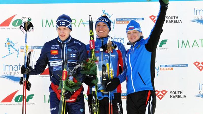 Череповчанин Андрей Ламов завоевал золотую медаль на чемпионате Европы по спортивному ориентированию на лыжах