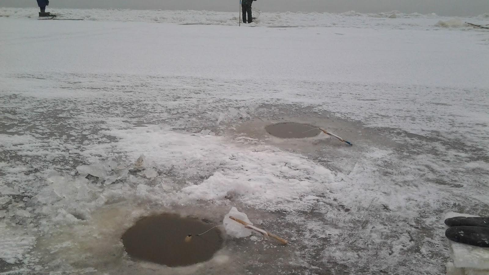 На реке Шексна мужчина на глазах других рыбаков провалился под лед
