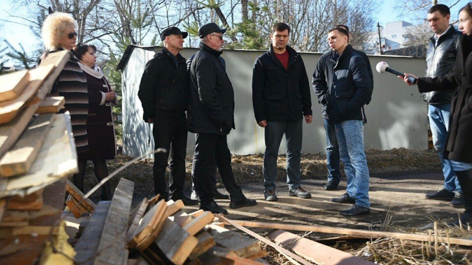 Сергей Воропанов не доволен работой дворников