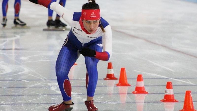 Юная вологжанка победила на «Летнем Кубке Союза Конькобежцев России»