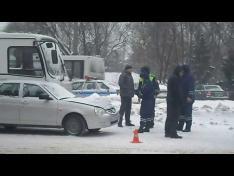 Массовая авария в Центре Вологды