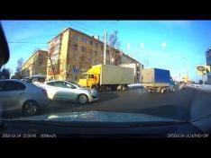 Авария на перекрестке Ленинградская - Гончарная