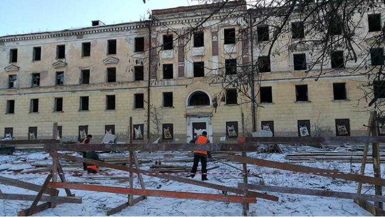 На месте сталинки на Чернышевского может появиться элитная гостиница