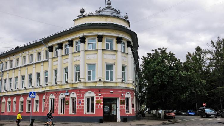 В администрации Вологды обвалился потолок