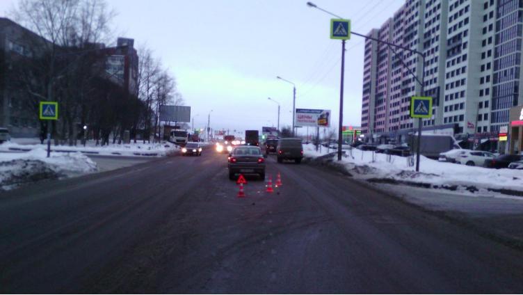 57-летнюю вологжанку сбили на пешеходном переходе