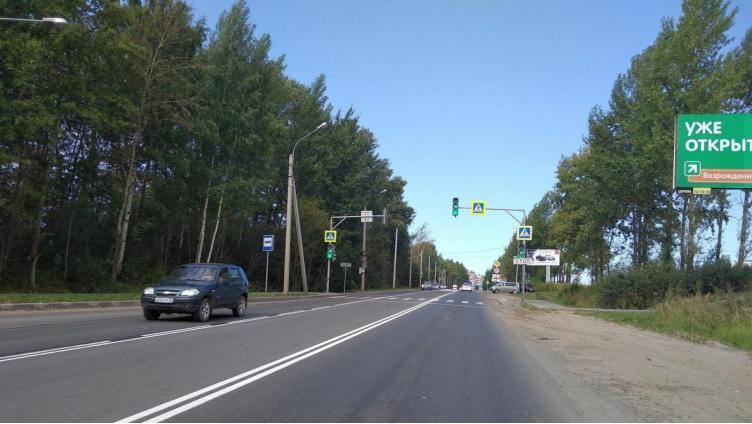 Разметку на Окружном шоссе изменили в целях безопасности