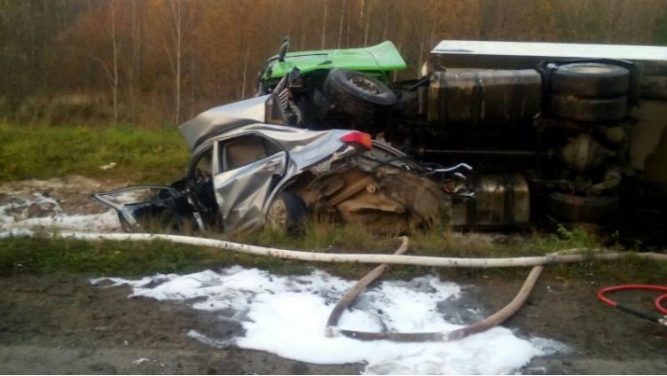 В страшной аварии в Вытегорском районе погибло 3 человека