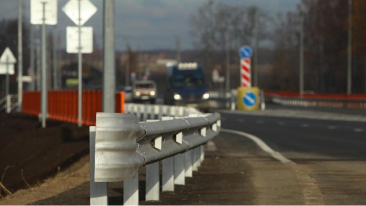 На выезде из Вологды открыли мост через Тошню