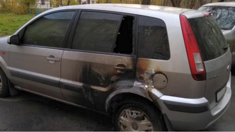 В Череповце поймали поджигателя машин