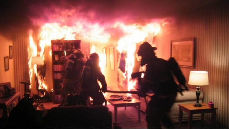 Во время пожара в своей квартире погиб череповчанин