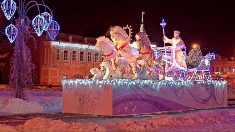 Вологда вошла в десятку желанных городов для встречи Нового года