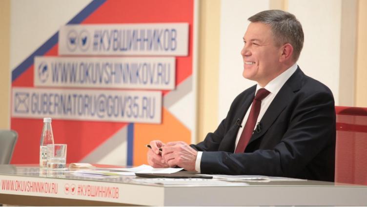 Во время прямой линии губернатор озвучил пакет предвыборных заявлений