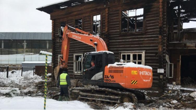 В Вологде сносят очередной исторический дом