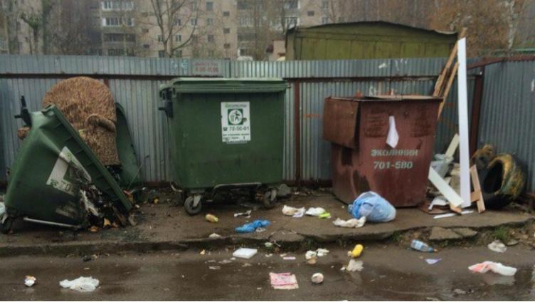 На Вологодчине до 1 марта заменят все старые мусорные контейнеры