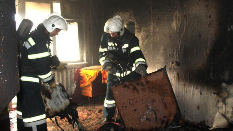 51-летний вологжанин погиб во время пожара