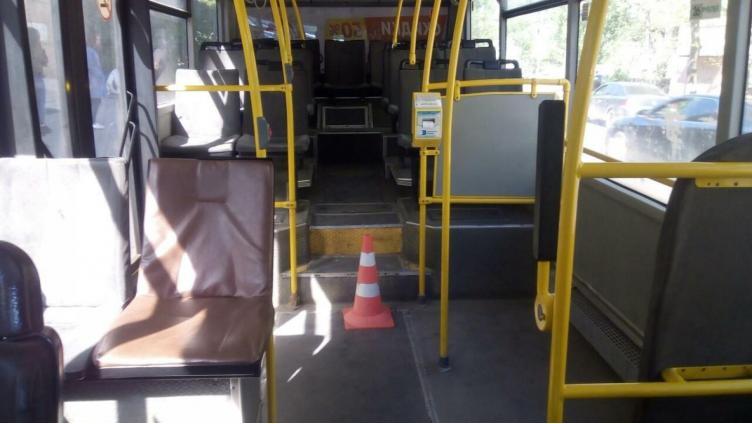 В Вологде пенсионерка травмировалась в автобусе