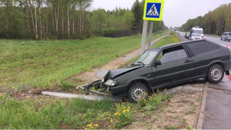Под Вологдой пожилого мужчину сбила машина