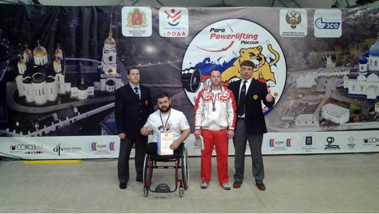 Вологодский силач-колясочник получил «серебро» на чемпионате России