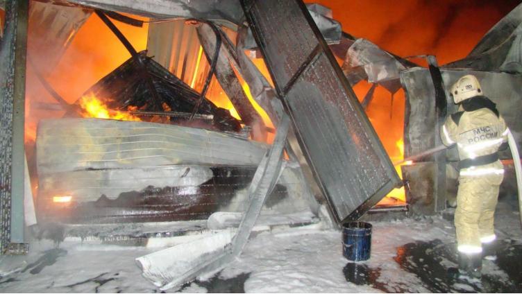 Пожар на Ананьинской