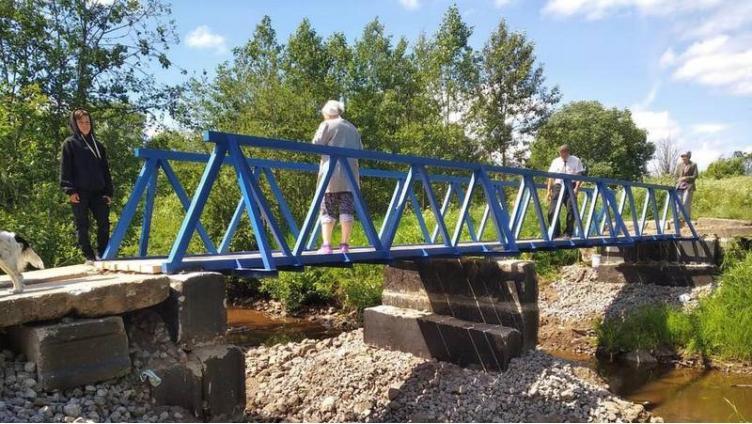 Мост построили, но жители недовольны