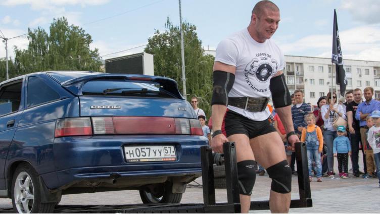 Силовое шоу пройдет в Вологде в День города