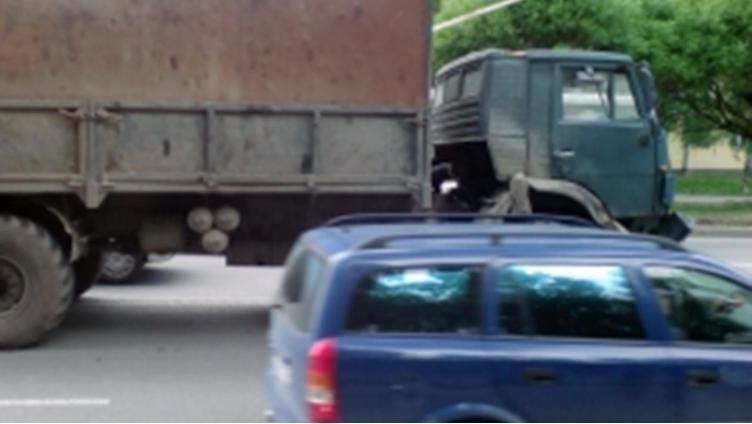 КамАЗ насмерть задавил пешехода в Вологде