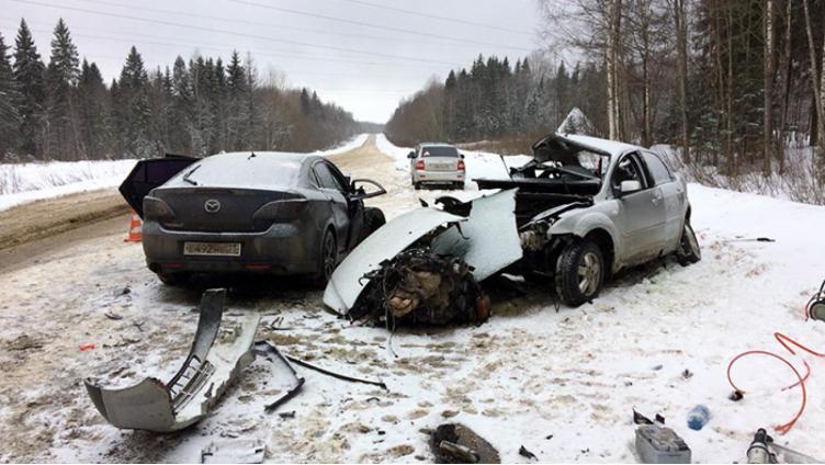 В ДТП в Сокольском районе погиб мужчина