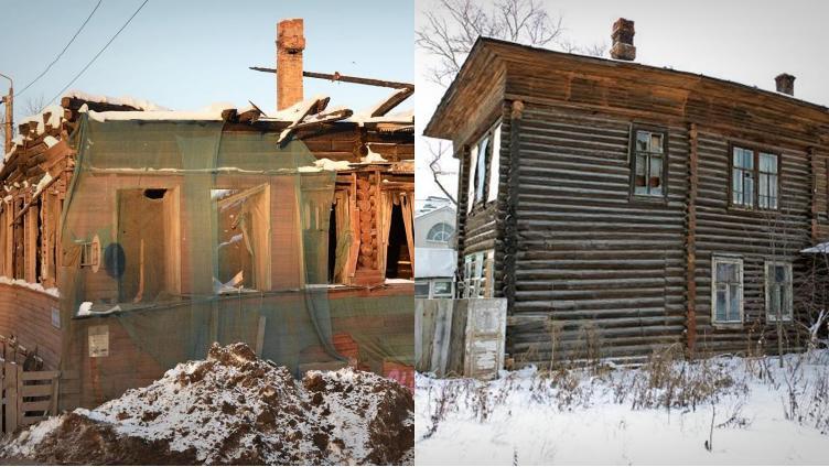 Два сгоревших дома отреставрируют в Вологде