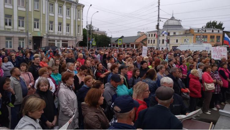 Сегодня профсоюзы выйдут на митинг против повышения пенсионного возраста