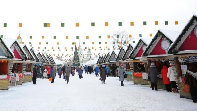 Завтра вВологде начнёт работать «Рождественская ярмарка»
