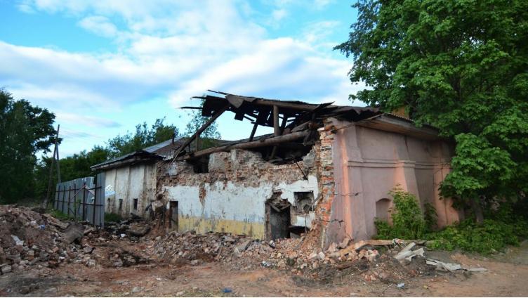 В Вологде началась реконструкция сидоровских бань